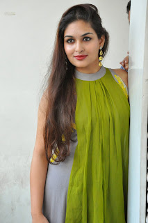 Actress Prayaga Martin Latest Picture Gallery at Pisachi Movie Success Meet 013.JPG