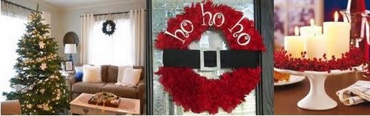 A mi manera arreglos de casa en navidad - Adornar la casa en navidad ...