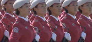 As Mulheres do Exército Chinês