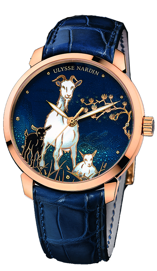 http://www.ulysse-nardin.com/en/swiss_watch_manufacturer/News___Events/Novelties/Classico_Goat.html