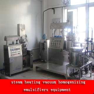 Vacuum Emulsifying Mixing Equipment for cream&lotion processing