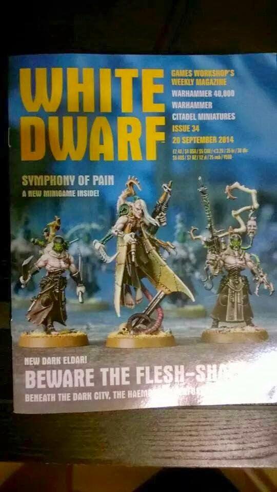 White Dwarf 34 proximas novedades Eldars Oscuros