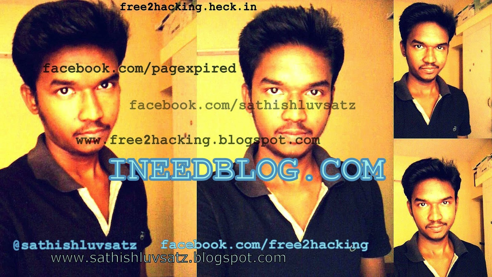 Ineedblog.com - @sathishluvsatz start-up.