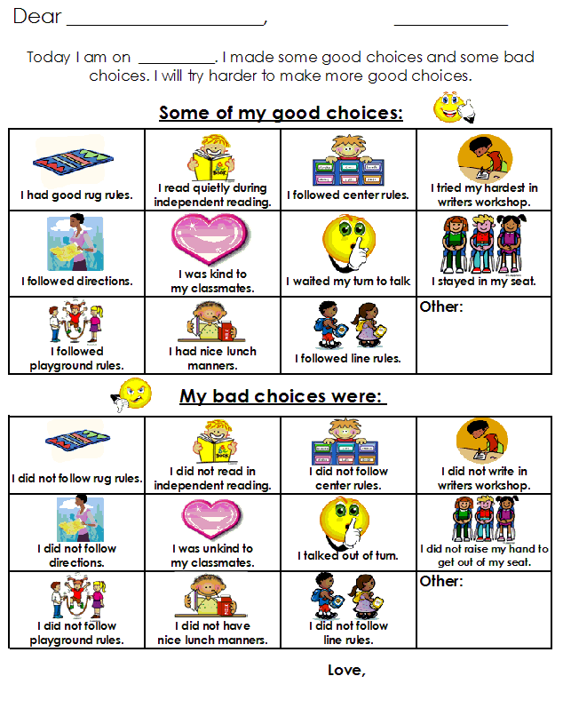 preschool behavior plan aloha kindergarten behavior plan linky 611