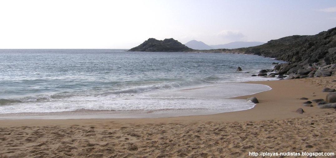 Nude beach Baroña / Area Longa (Galicia, Spain)