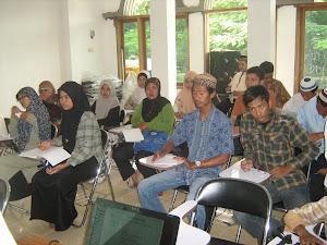 peserta DGPQ ( Diklat Guru Pengajar Al-Qur'an )