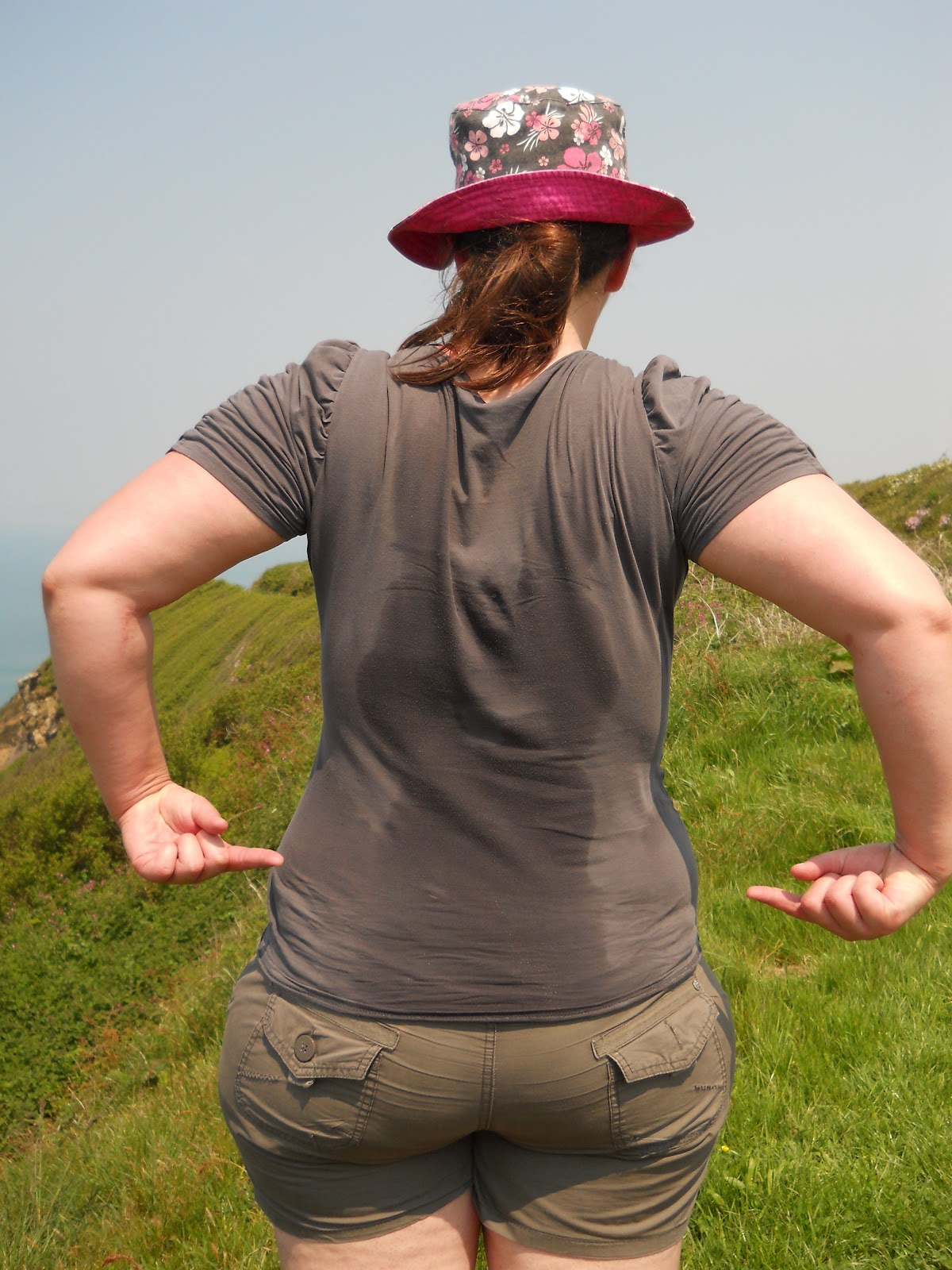 We Tried Lugging It All In Hiking Rucksacks From Bude To Boscastle  Miles But It Was Roasting Hot Even At Am And The Cliffs Are Some Of The Highest In