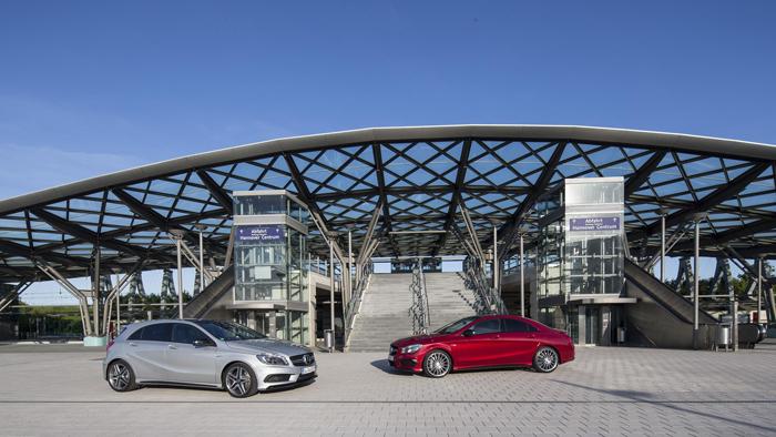 Mercedes A 45 AMG y CLA 45 AMG