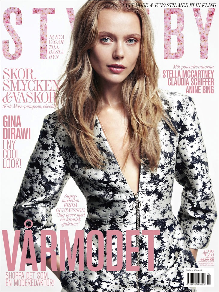 Frida Gustavsson HQ Pictures Styleby  Magazine Photoshoot #23 2014