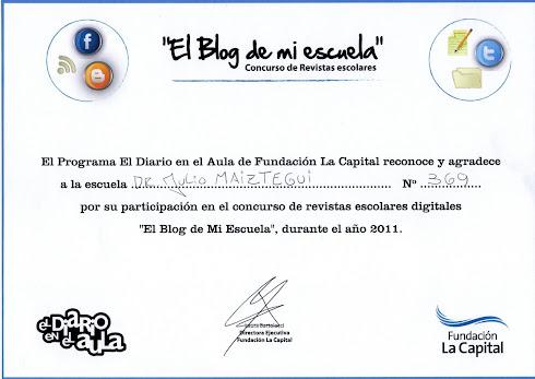"""""""El Blog de mi escuela"""""""