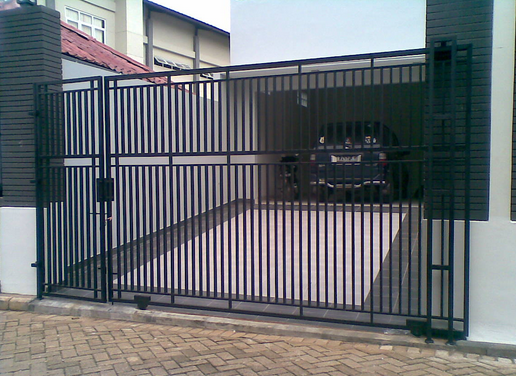 modelrumahminimalis 2016 contoh pintu pagar minimalis images