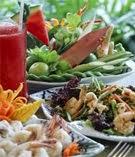 อาหารไทยสมุนไพรไทยอาหารอร่อยเผ็ดจัดจ้าน