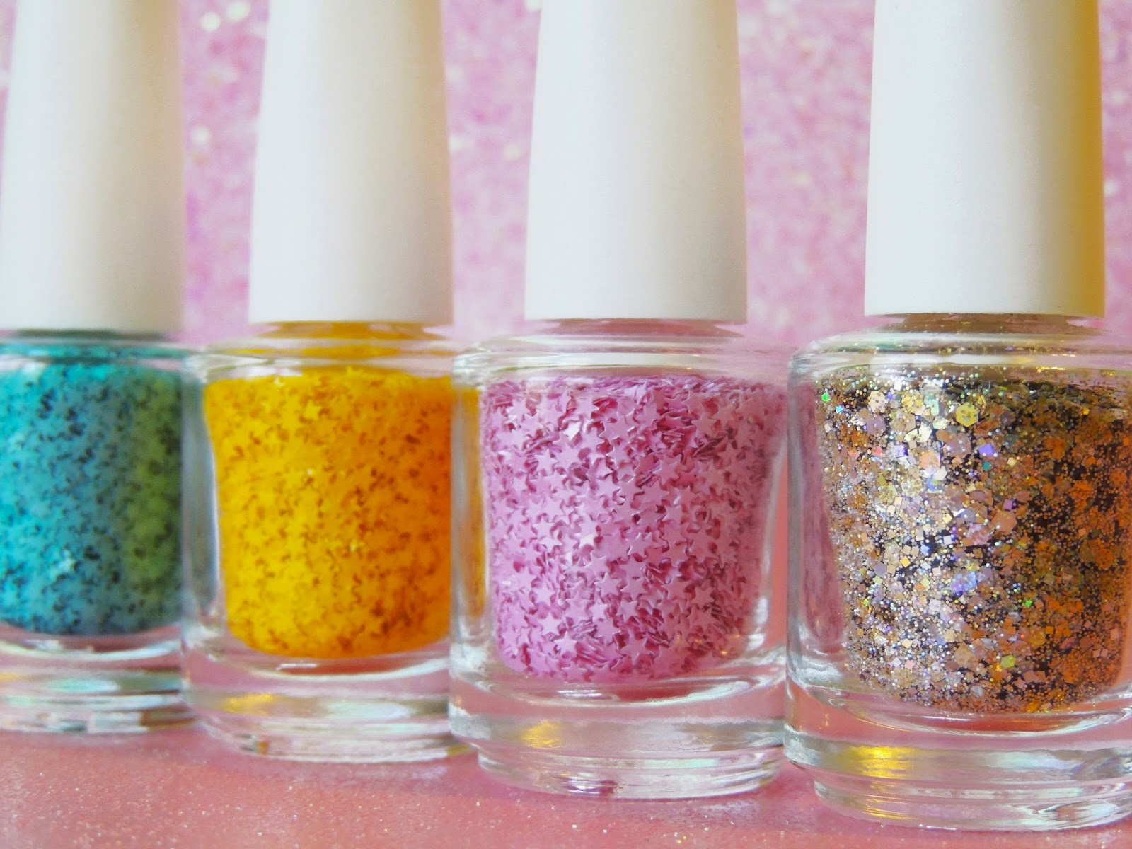 Raw Glitter Mix for doing Nail Art! By Glitter Lambs
