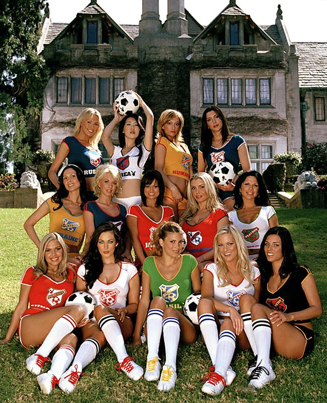 Playboy Nude World Soccer Team ~ Google