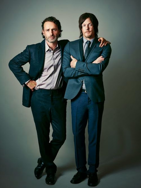 Andrew Lincoln Norman Reedus - Atlanta Magazine Photoshoot