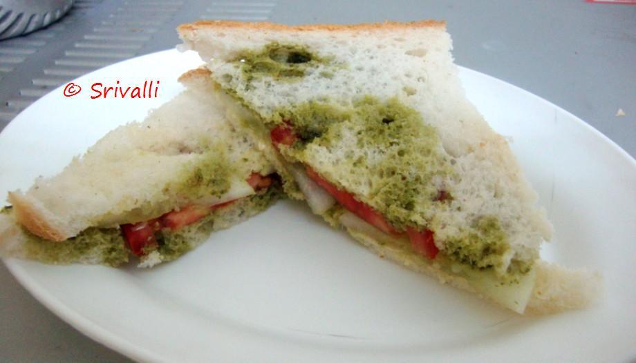 Bombay Grilled Sandwich | Bombay Sandwich | Step By Step Recipes ...