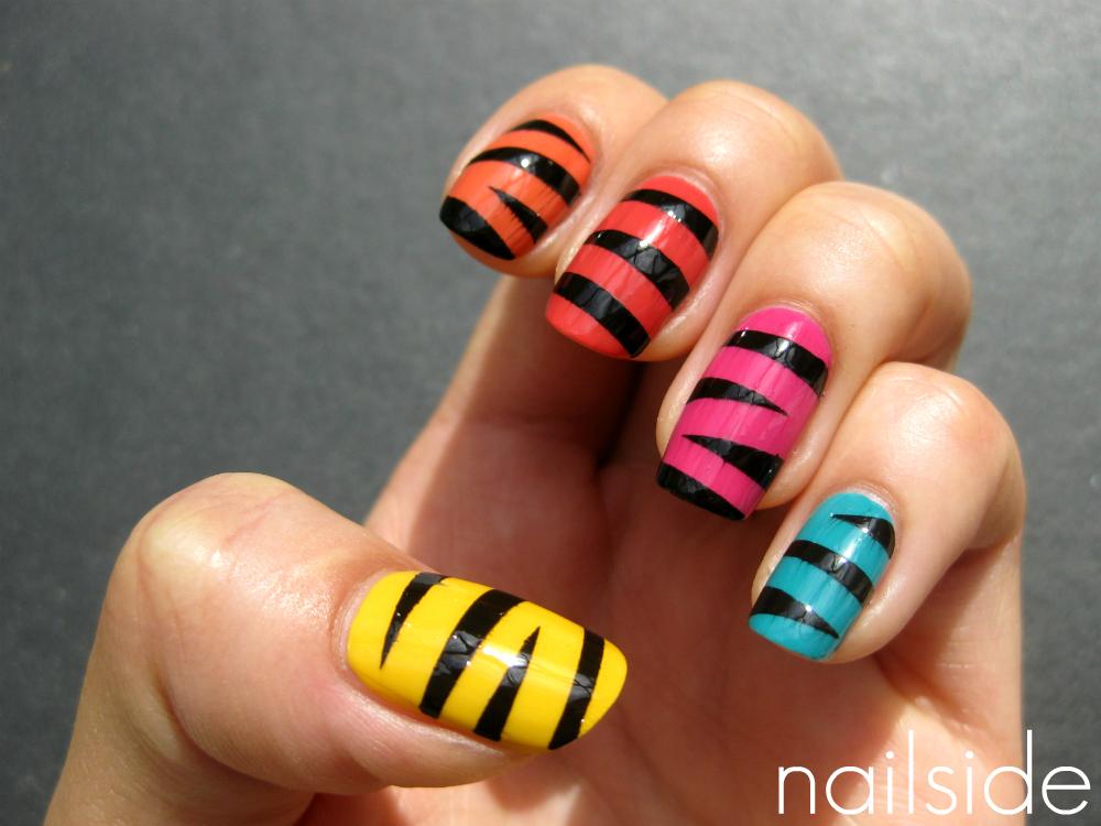 Nailside: Mummy skittle