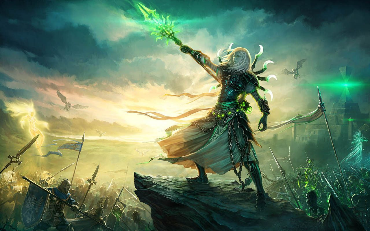Gamers get ready to duel  Might  amp  Magic Heroes VI stand-alone    Planeswalker Wallpaper