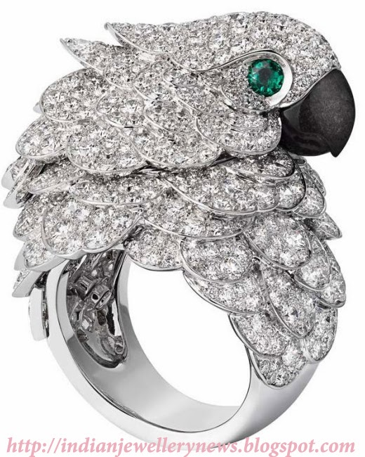 Cartier Fabuleux Parrot Watch and Ring