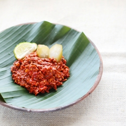 how to make indonesian recipe for sambal terasi bilimbi