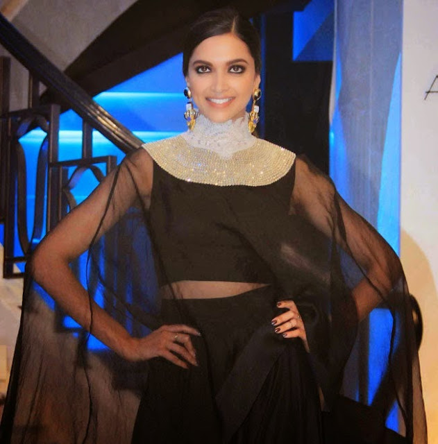 Deepika Stills at Anamika Khanna Show From Lakme Fashion Week 2015 Event