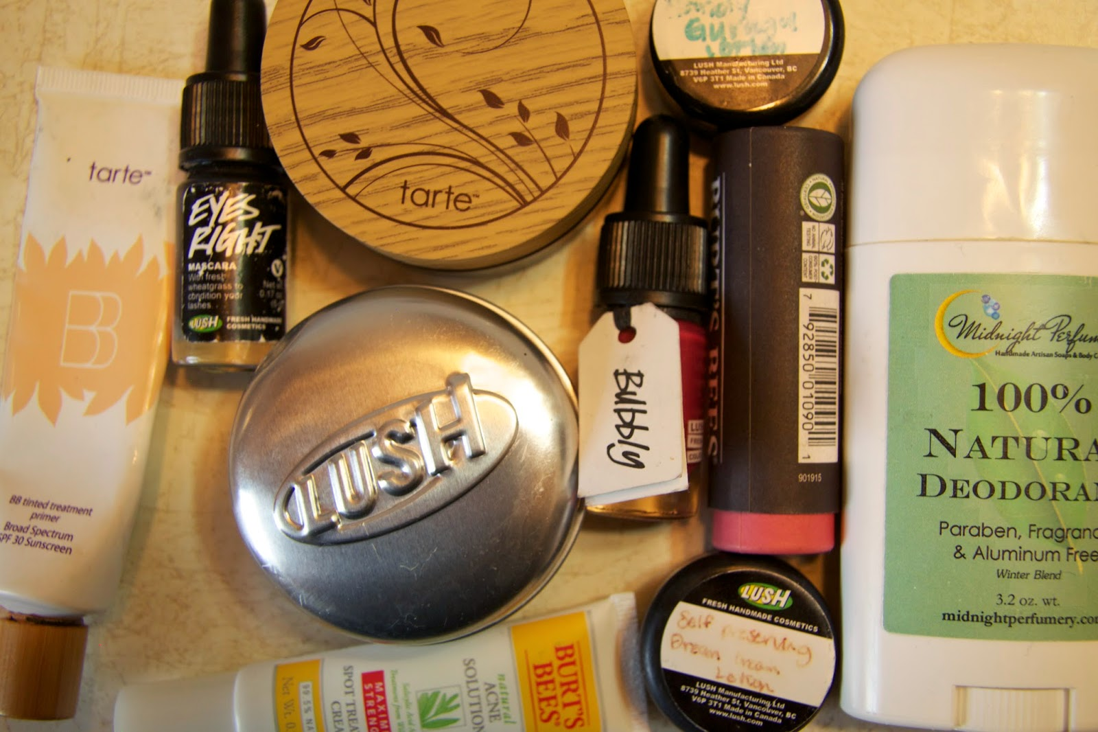 Only natural holistic eco-friendly and no animal testing beauty products