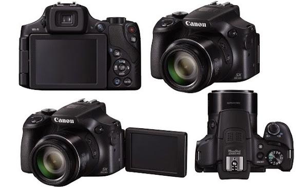 Canon PowerShot SX60 HS. Digitalizer