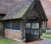 Porch to Stoke Poges Church