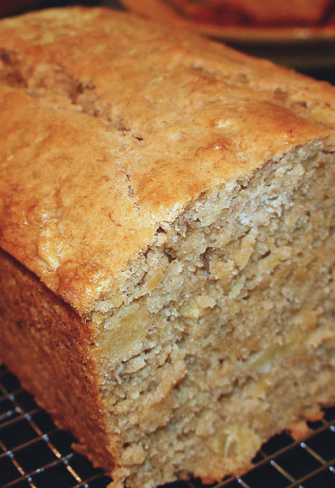 Tropical Pineapple Coconut Banana Bread Cook N Is Fun