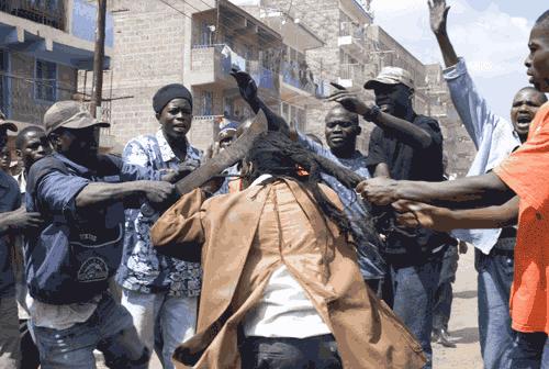 Gang Mungiki di Kenya