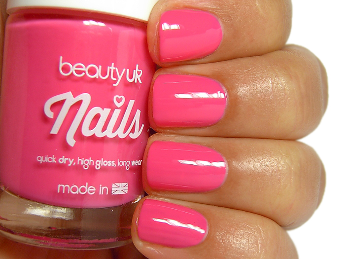 Beauty UK Nails - Pink You've Had Enough