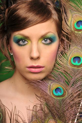 Eye Makeup Tips   Eye Makeup Ideas Peacock Fantasy Makeup