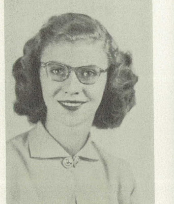 Climbing My Family Tree: Angela Joy Henn, 1952 Jefferson High School Yearbook, Sr. picture