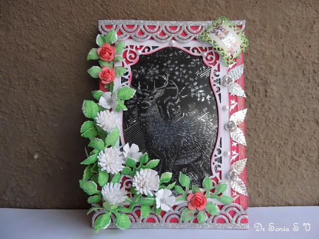 Metal Foil Art Card