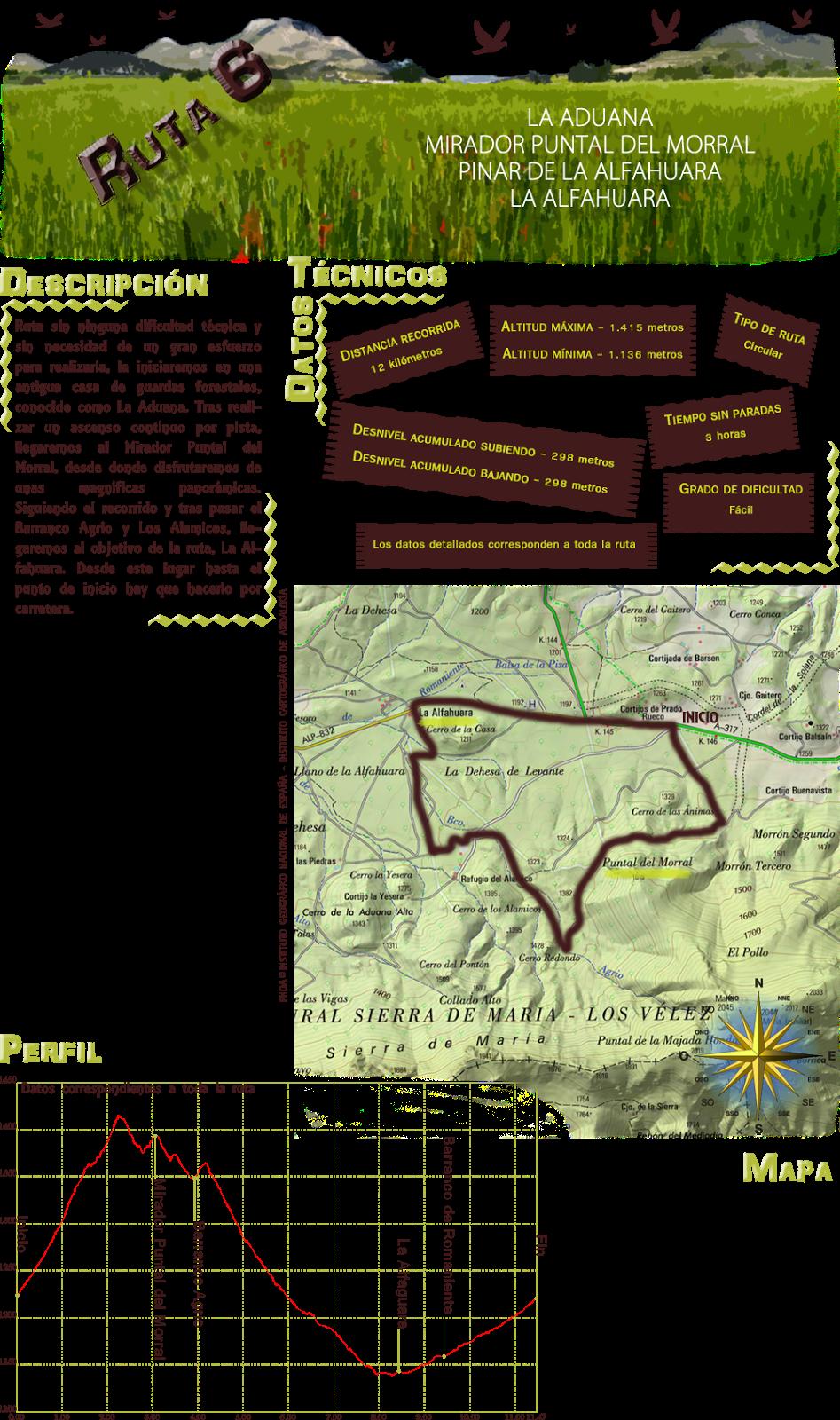 Ruta 6: Descripcion y datos tecnicos