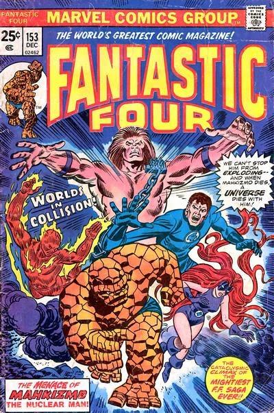 Fantastic Four #153, Mahkizmo