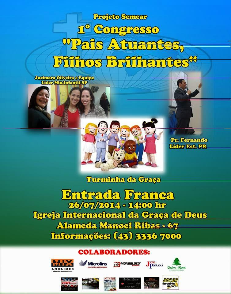 Congresso de Pais e Professores em Londrina