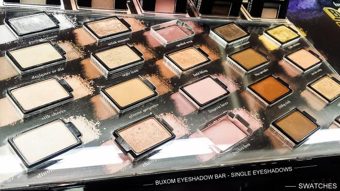 Buxom Eyeshadow Bar Single Eyeshadows Refills Swatches