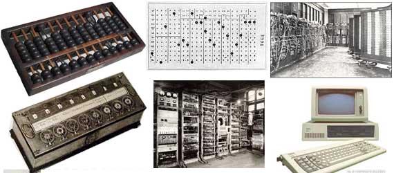 ... sejarah perkembangan komputer dari generasi ke kenerasi karena sejarah