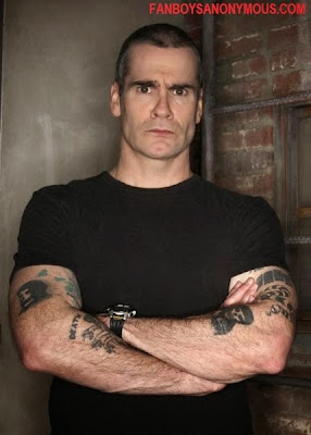 Sons of Anarchy actor comedian and singer Henry Rollins Walking Dead Negan