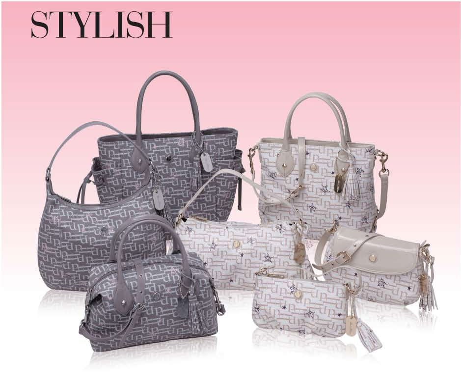 The Stylish handbags have one aim: to get out the free and young spirit in  you. Available in a