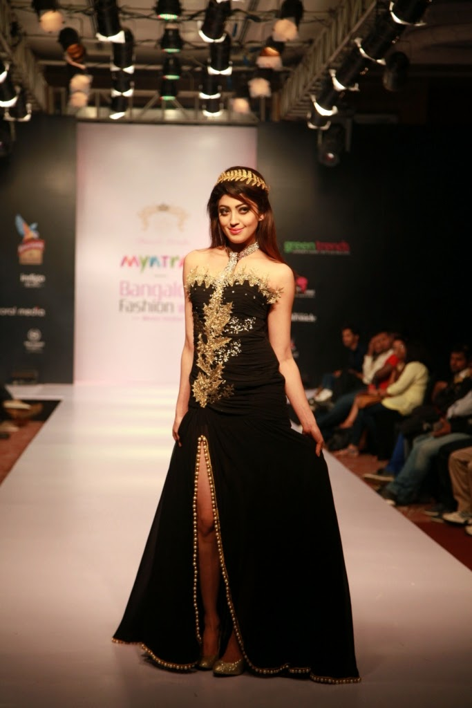 Myntra bangalore fashion week day 1 stylish by nature by shalini chopra india fashion style Bangalore fashion style week