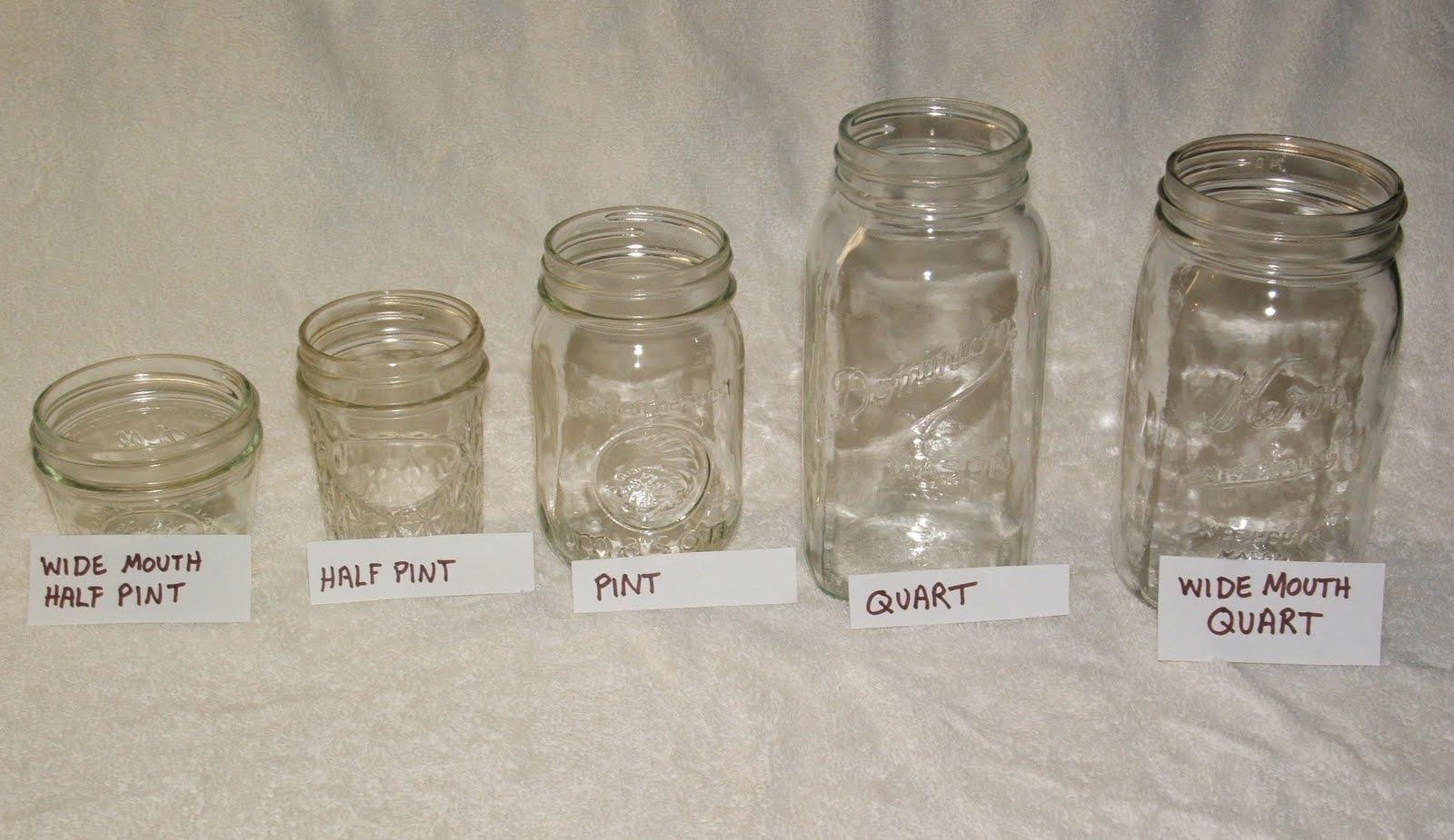 God s growing garden the basics of canning jar sizes