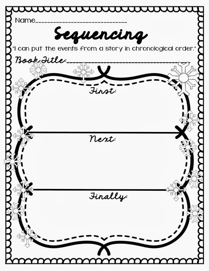 Worksheet On Sequencing Of Events For Grade 1 Furthermore Worksheet ...