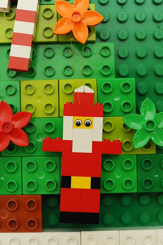 Rust Sunshine 12 Days Of Christmas Day 10 Lego Ornaments