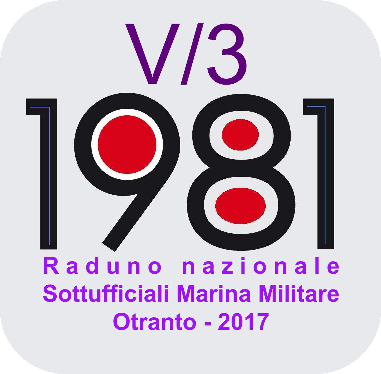 Raduno Sottufficiali M.M. Corso V3/81. Aggiornamenti.