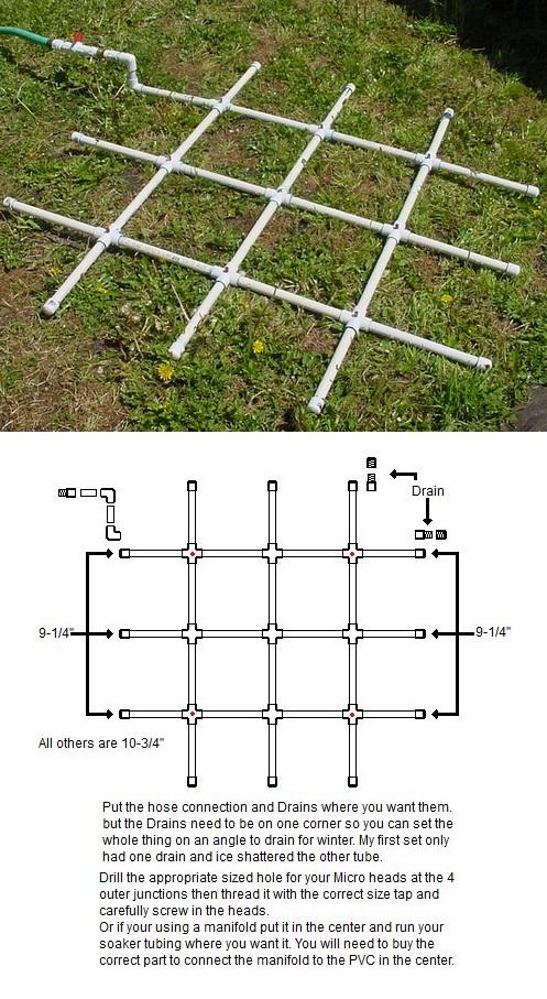 Backyard Nursery System : The Backyard Garden PVC Watering System