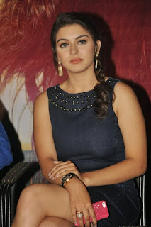 Actress Hansika Motwani  Pictures in Short Dress at Biriyani Movie Audio Launch Function 0048.jpg