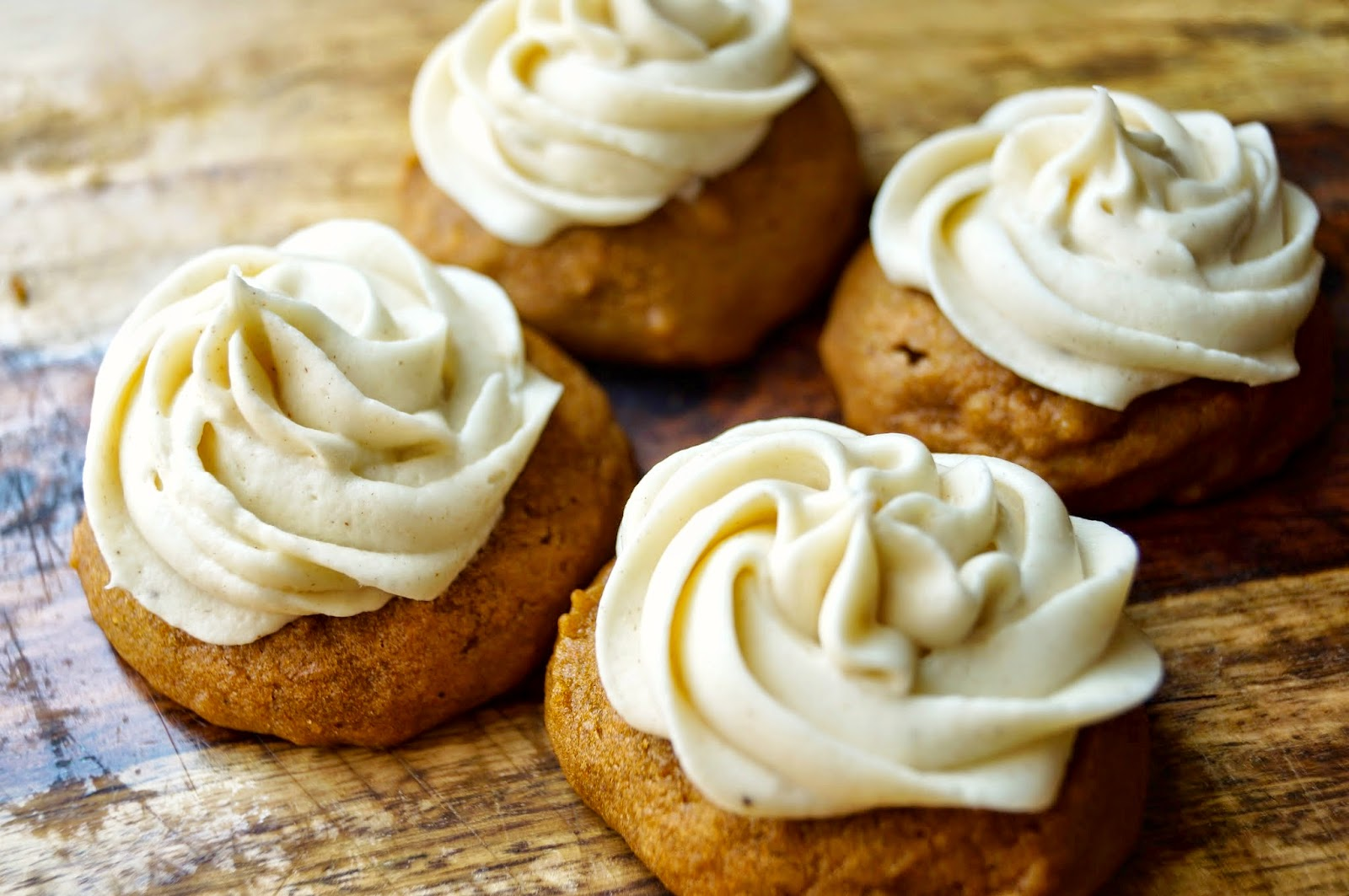 ... to New Home : Soft Pumpkin Cookies with Cinnamon Cream Cheese Frosting