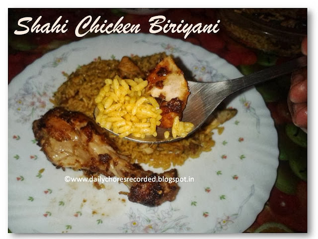 Shahi Chicken Biriyani